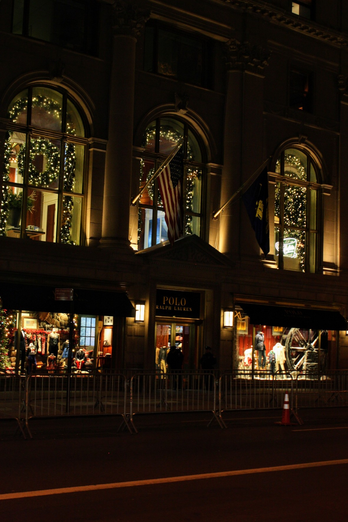 Polo Ralph Lauren on 5th Avenue in NYC